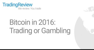 Bitcoin in 2016: trading or gambling