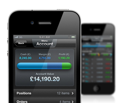 CMC Markets iPhone Trading