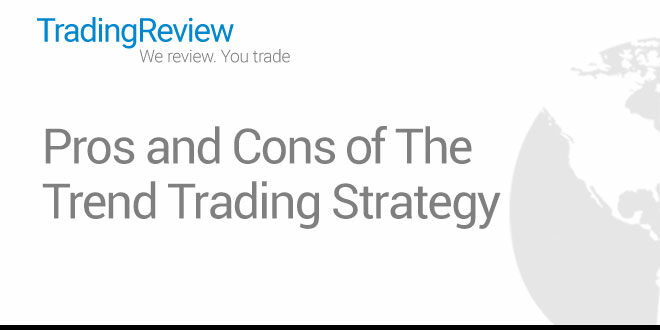 Pros and Cons of The  Trend Trading Strategy